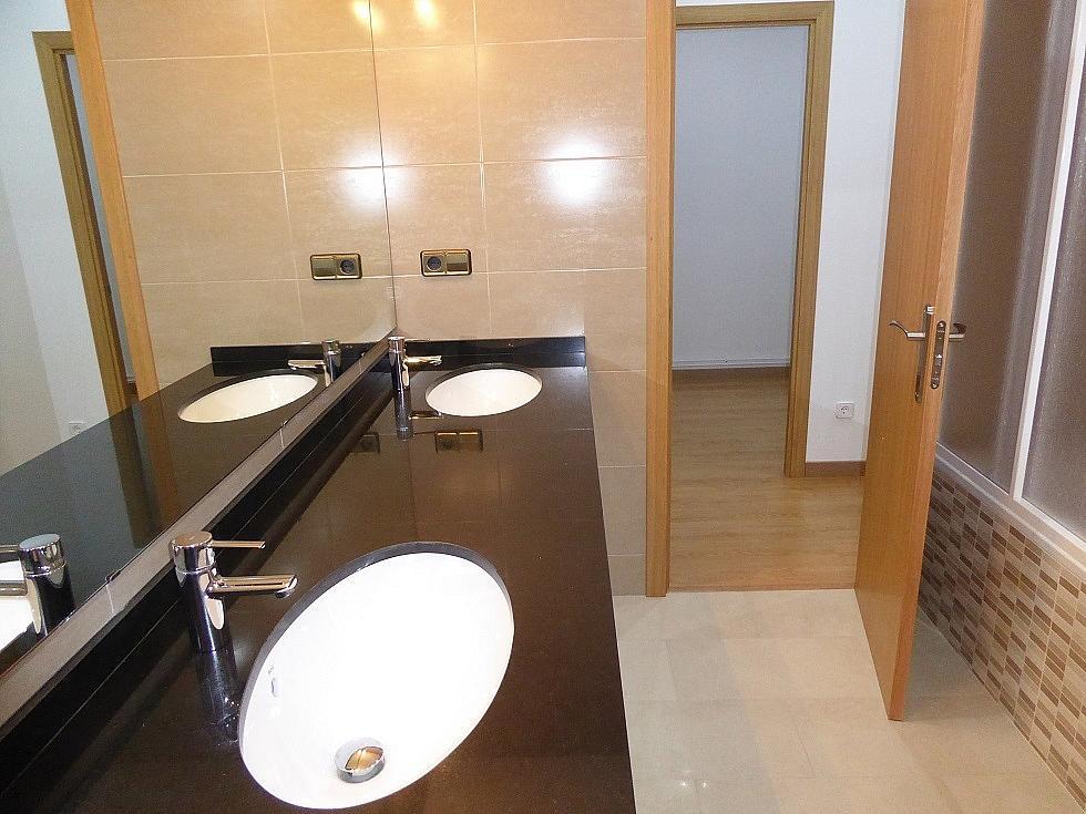 Baño - Piso en alquiler en calle Rosellón, Eixample esquerra en Barcelona - 323446530