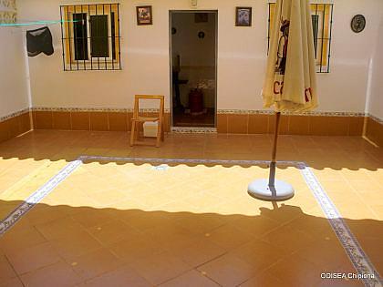 PATIO INTERIOR - Casa adosada en alquiler de temporada en Chipiona - 241177465