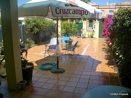 TERRAZA - Casa adosada en alquiler de temporada en Chipiona - 241177486