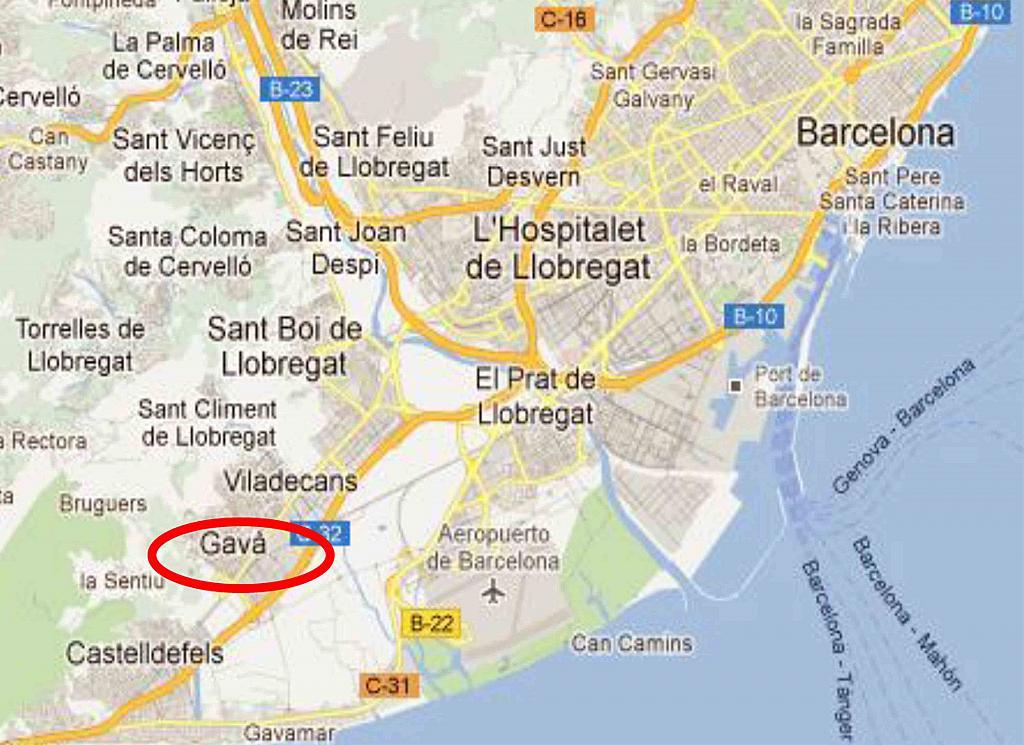 Plano - Nave industrial en alquiler en polígono La Post, Polígon La Post en Gavà - 256043107