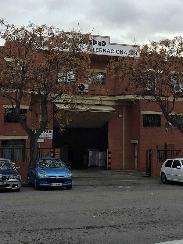 Fachada - Nave industrial en alquiler en polígono Almeda, Almeda en Cornellà de Llobregat - 257358471