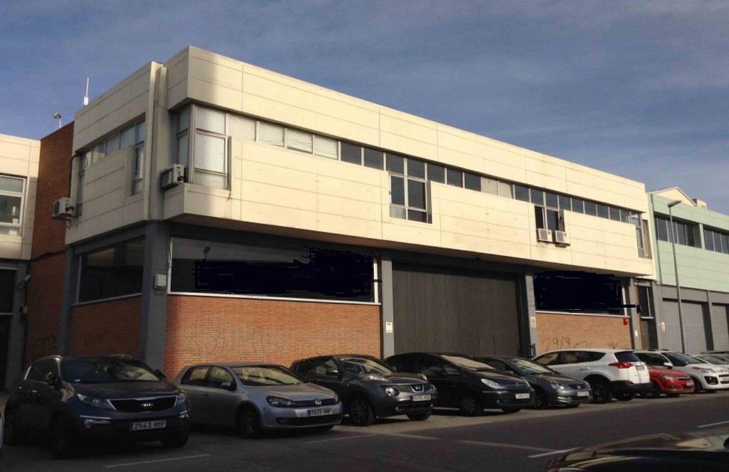 Fachada - Nave industrial en alquiler en polígono Del Mig, Sant Josep en Hospitalet de Llobregat, L´ - 259557307