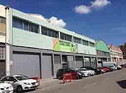 Fachada - Nave industrial en alquiler en polígono Del Mig, Centre en Hospitalet de Llobregat, L´ - 259912082