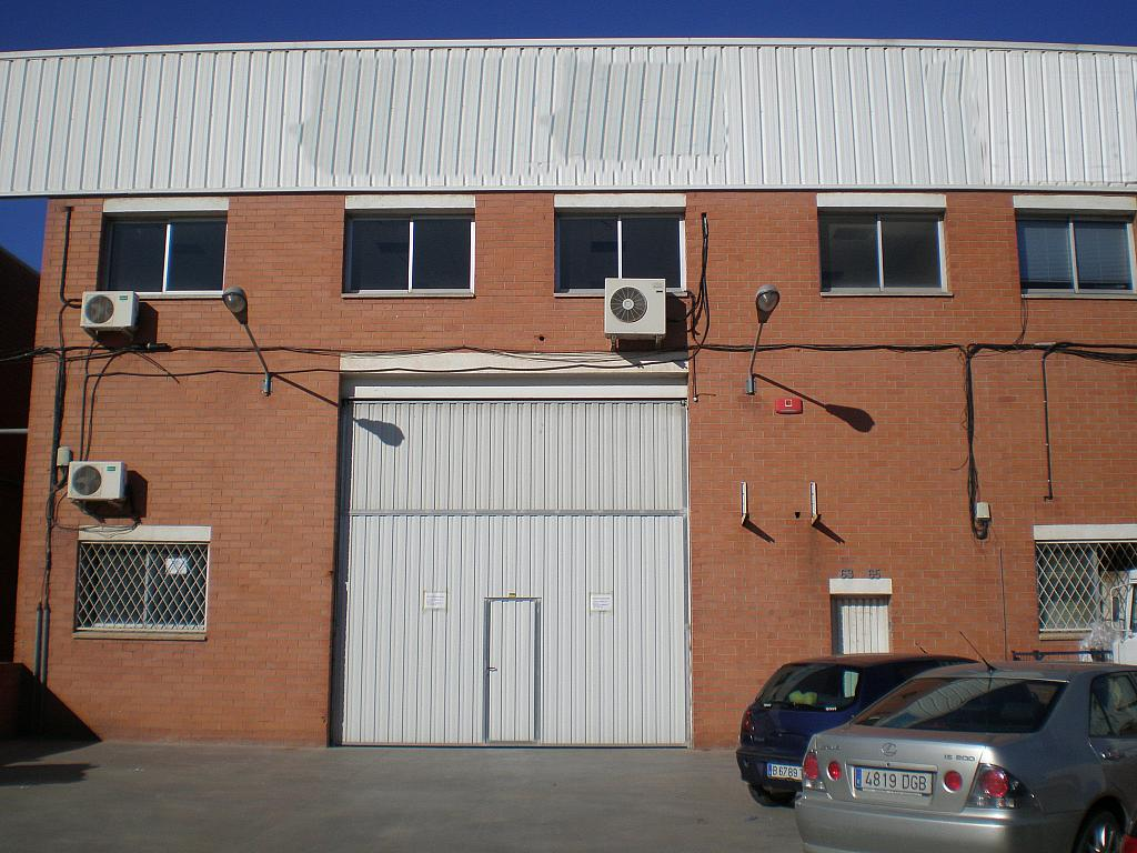 Fachada - Nave industrial en alquiler en polígono Este, Almeda en Cornellà de Llobregat - 263939696
