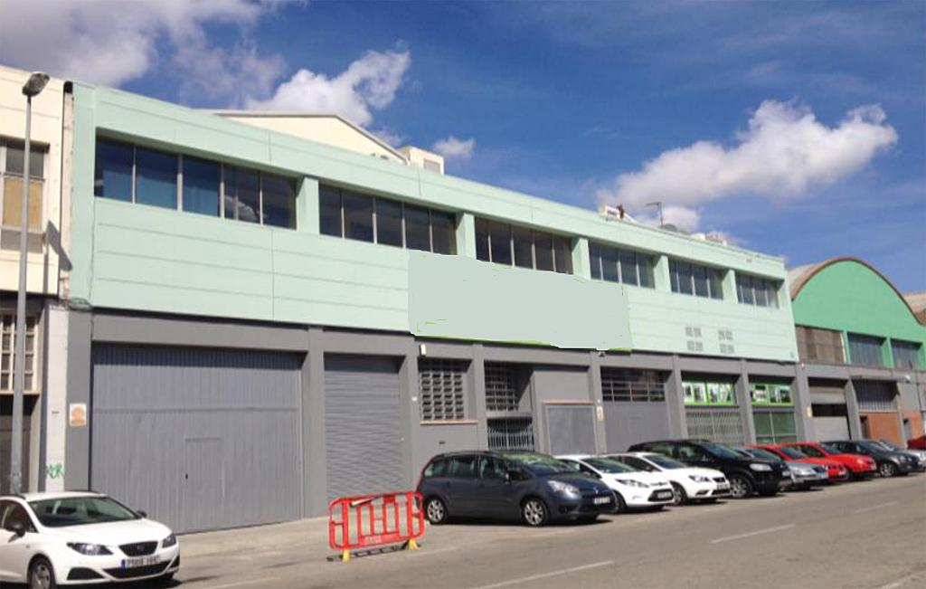 Fachada - Nave industrial en alquiler en polígono Del Mig, Centre en Hospitalet de Llobregat, L´ - 285607539