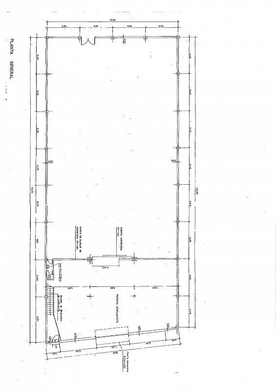 Plano - Nave industrial en alquiler en polígono Gran Via Sur, Gran Via LH en Hospitalet de Llobregat, L´ - 289783571