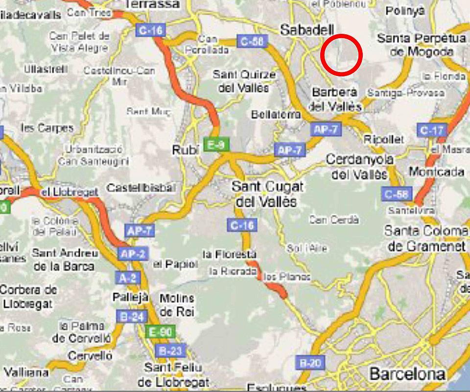 Plano - Nave industrial en alquiler en polígono Can Roqueta, Torre romeu en Sabadell - 314898619
