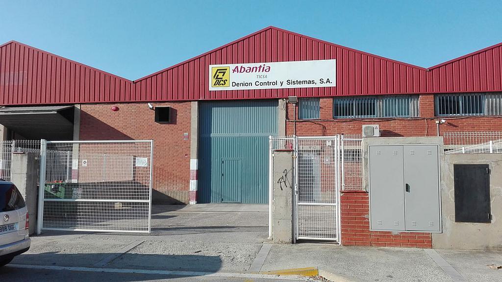 Fachada - Nave industrial en alquiler en polígono Can Calderón, Camps Blancs en Sant Boi de Llobregat - 328019638