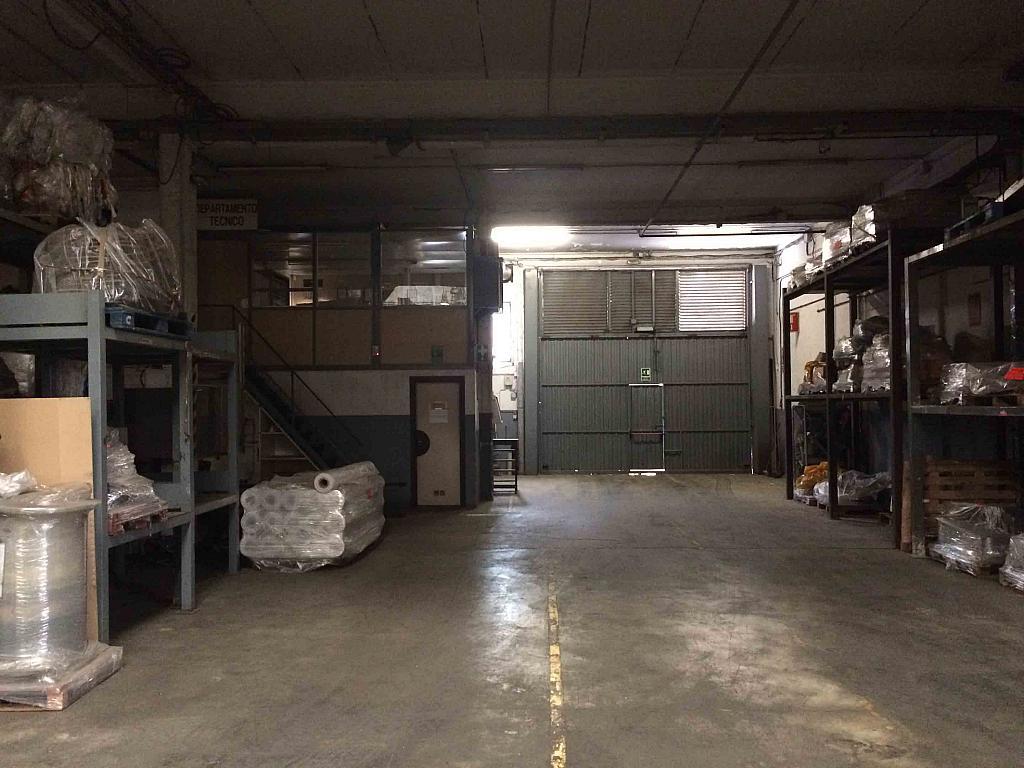 Planta baja - Nave industrial en alquiler en polígono Sudoest, Polígon Sud-Oest en Sabadell - 188740763
