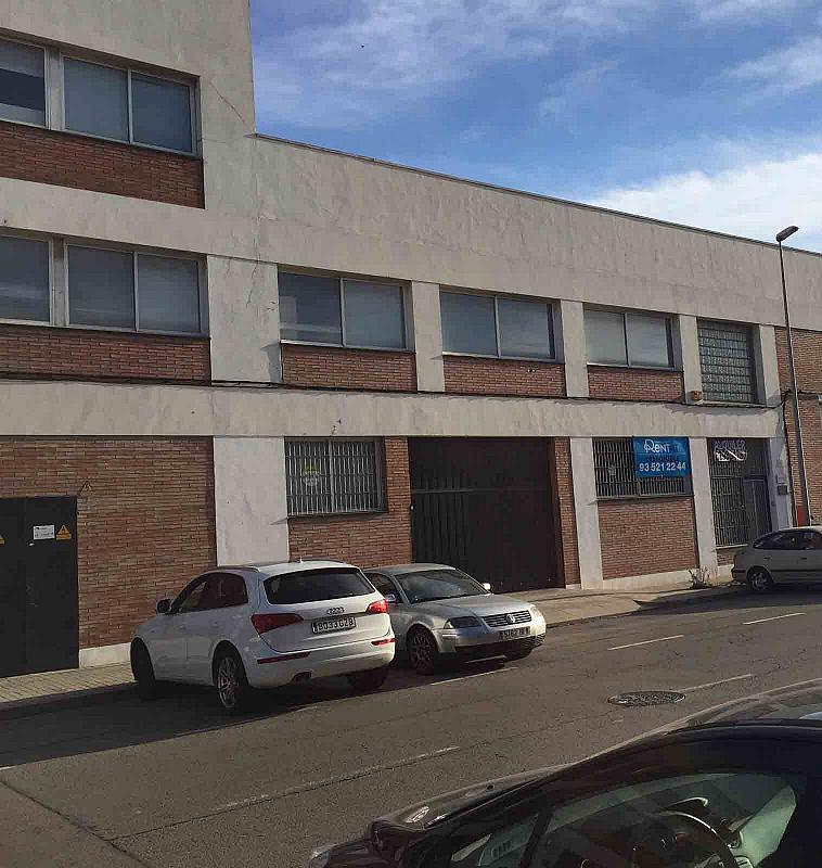 Fachada - Nave industrial en alquiler en polígono Del Mig, Centre en Hospitalet de Llobregat, L´ - 219834980
