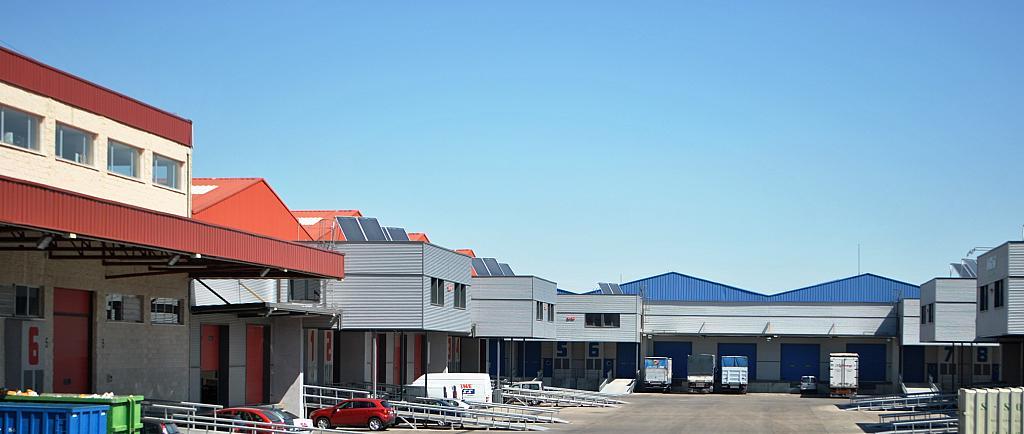 Fachada - Nave industrial en alquiler en calle De la Alcarria, Coslada - 137186245