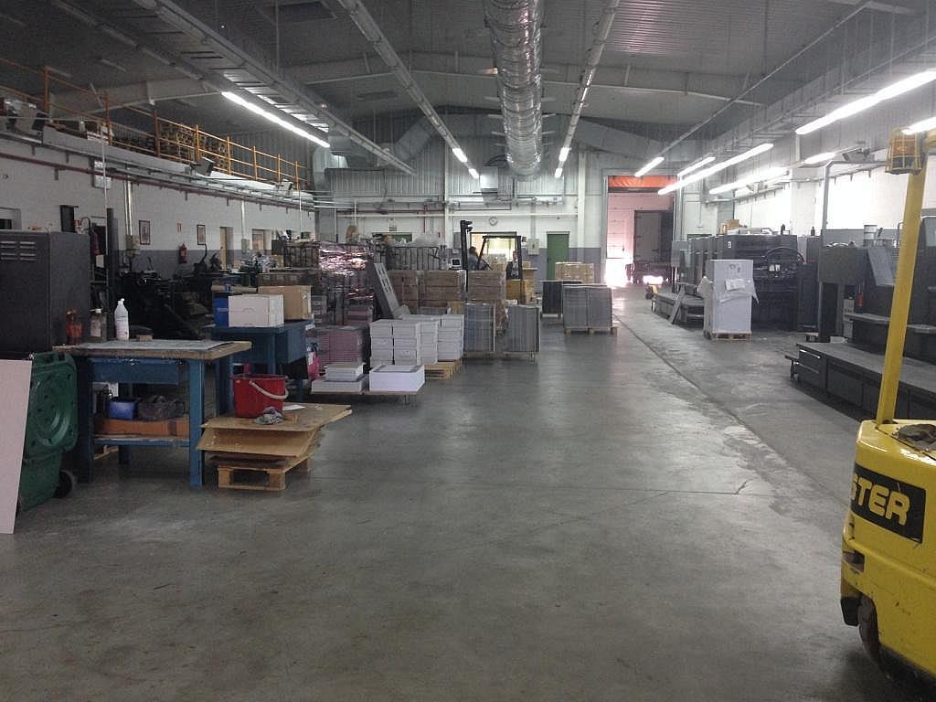 Planta baja - Nave industrial en alquiler en calle Primavera, Leganés - 154596946