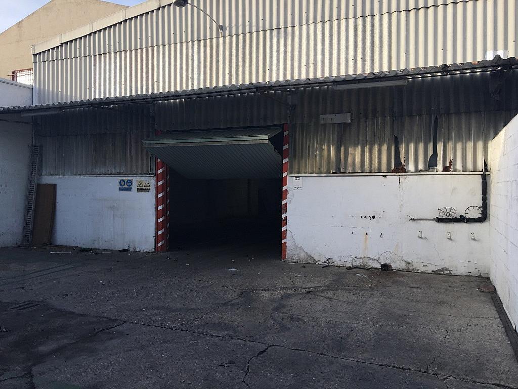 Patio trasero - Nave industrial en alquiler en calle Francisco Gasco Santillan, Centro en Getafe - 238050624