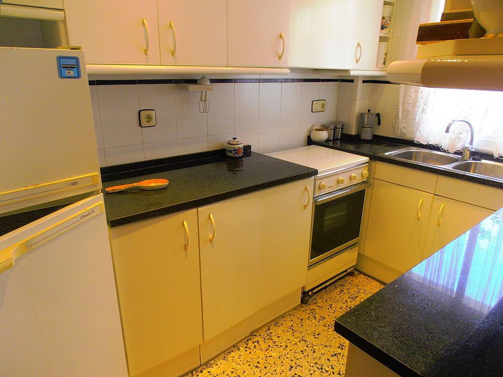 Cocina - Apartamento en venta en calle Conde Gómez de Urbaneja, Centre en Segur de Calafell - 198613627