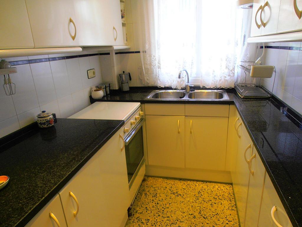 Cocina - Apartamento en venta en calle Conde Gómez de Urbaneja, Centre en Segur de Calafell - 198613630
