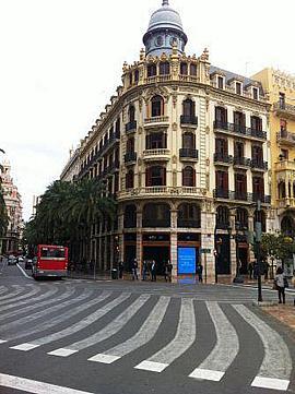 Fachada - Oficina en alquiler en calle De Las Barcas, Gran Vía en Valencia - 238056277