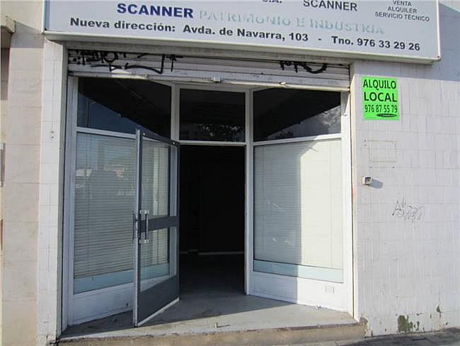 Local comercial en alquiler en calle Fuenterrabia, Delicias en Zaragoza - 307183699