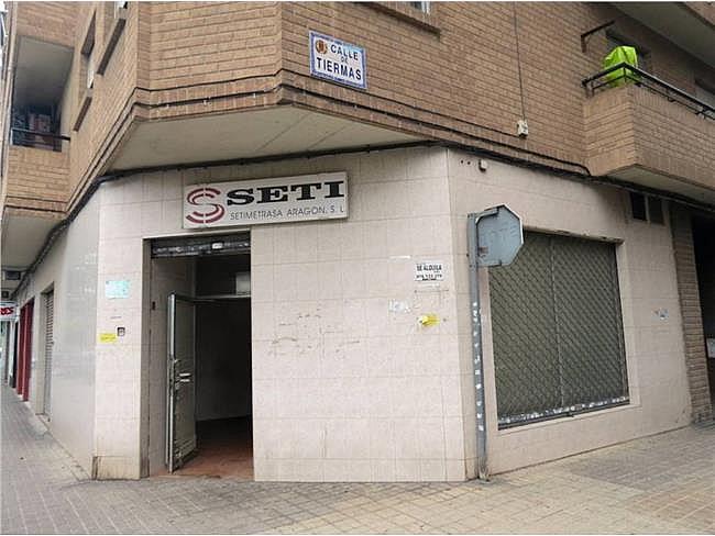Local comercial en alquiler en calle Tiermas, Las Fuentes – La Cartuja en Zaragoza - 307179877