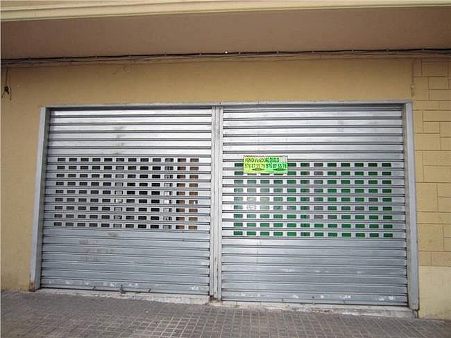 Local comercial en alquiler en calle Leopoldo Romeo, Las Fuentes – La Cartuja en Zaragoza - 307180078