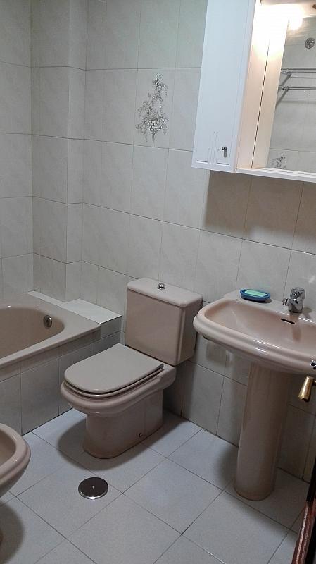 Baño - Piso en alquiler en calle Sainza, Ourense - 261508849