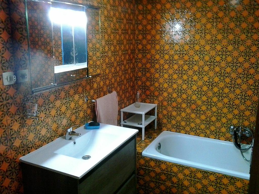 Baño - Piso en alquiler en calle Remedios, Ourense - 324874781