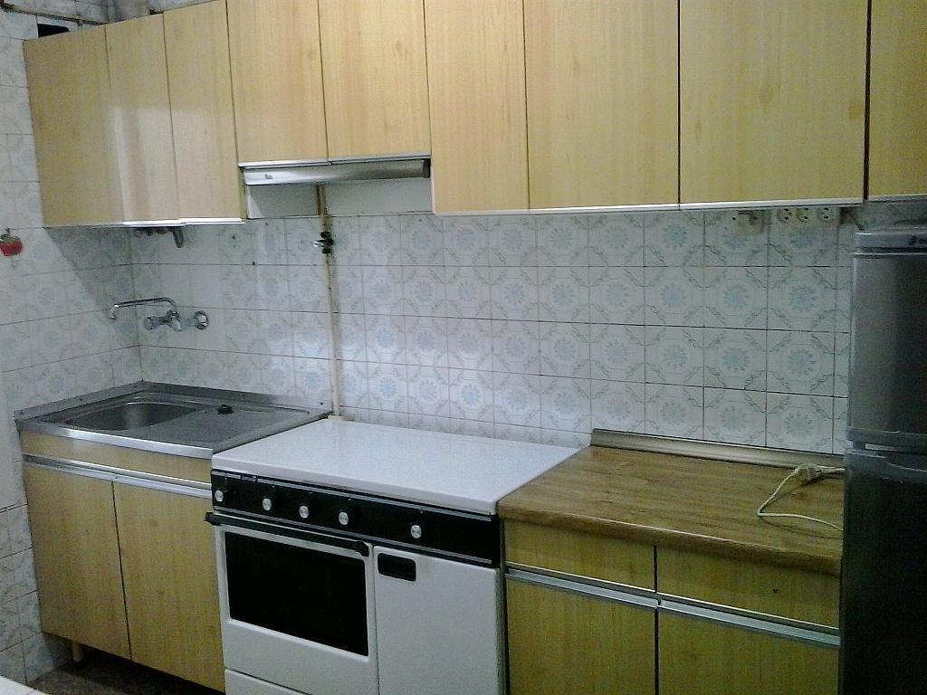 Cocina - Piso en alquiler en calle Remedios, Ourense - 324874796