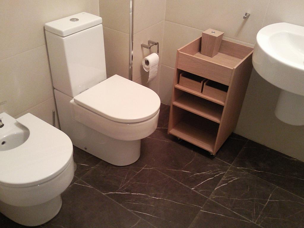 Baño - Estudio en alquiler en calle Progreso, Ourense - 333525228