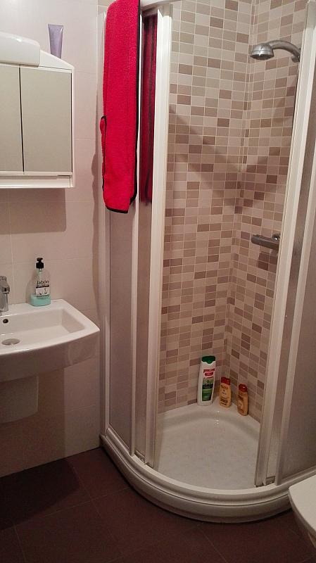Baño - Estudio en alquiler en calle Doctor Fleming, Ourense - 351493165