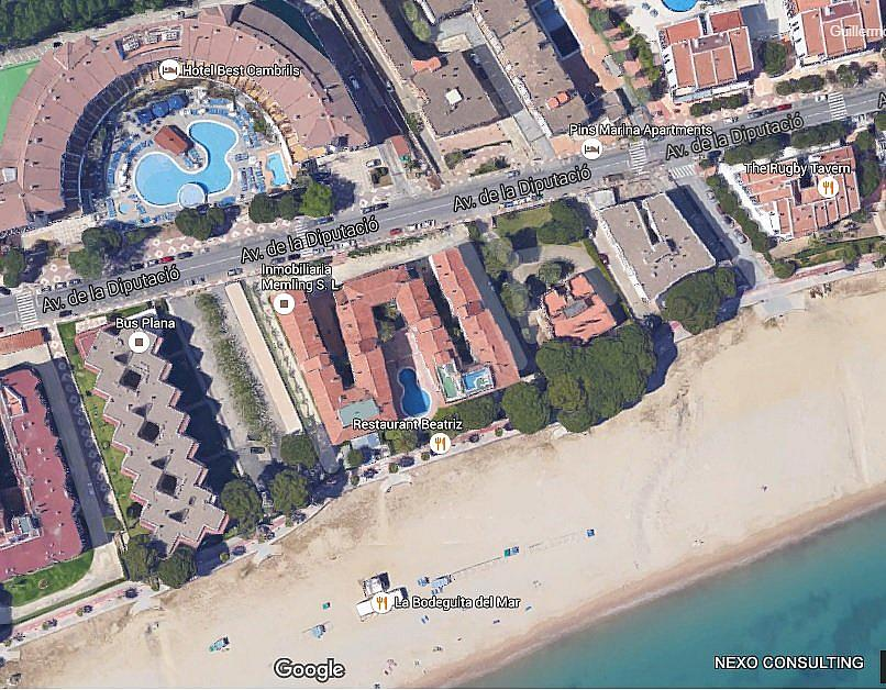 Plano - Apartamento en venta en calle Diputación, Vilafortuny en Cambrils - 254989591