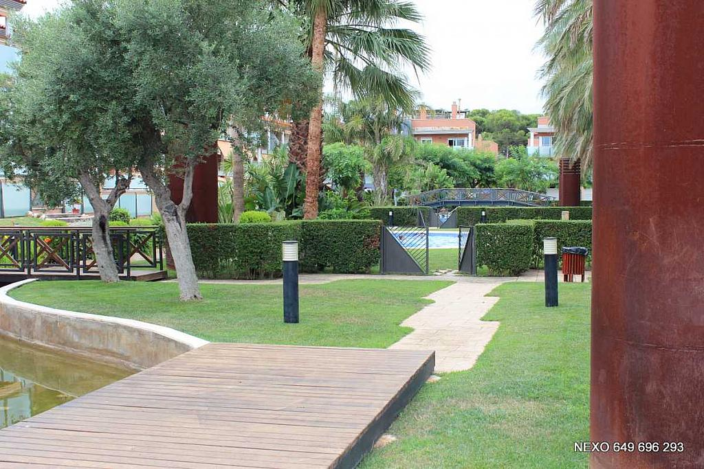 Jardín - Apartamento en venta en calle Castell D'almansa, Vilafortuny en Cambrils - 306995727