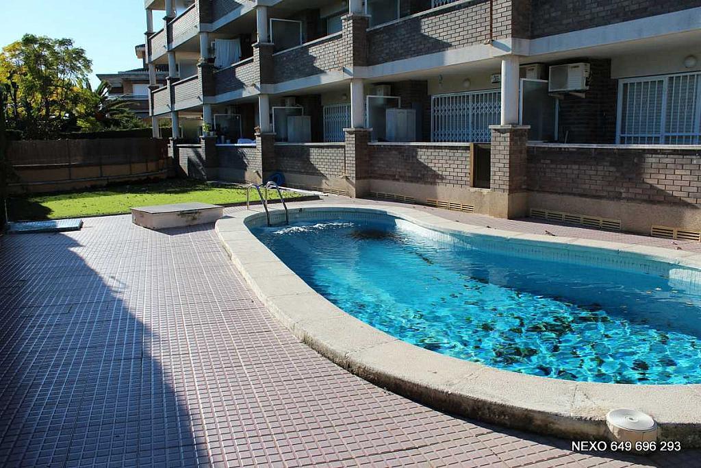 Piscina - Apartamento en venta en calle Josep Mária Subirats, Vilafortuny en Cambrils - 163705903