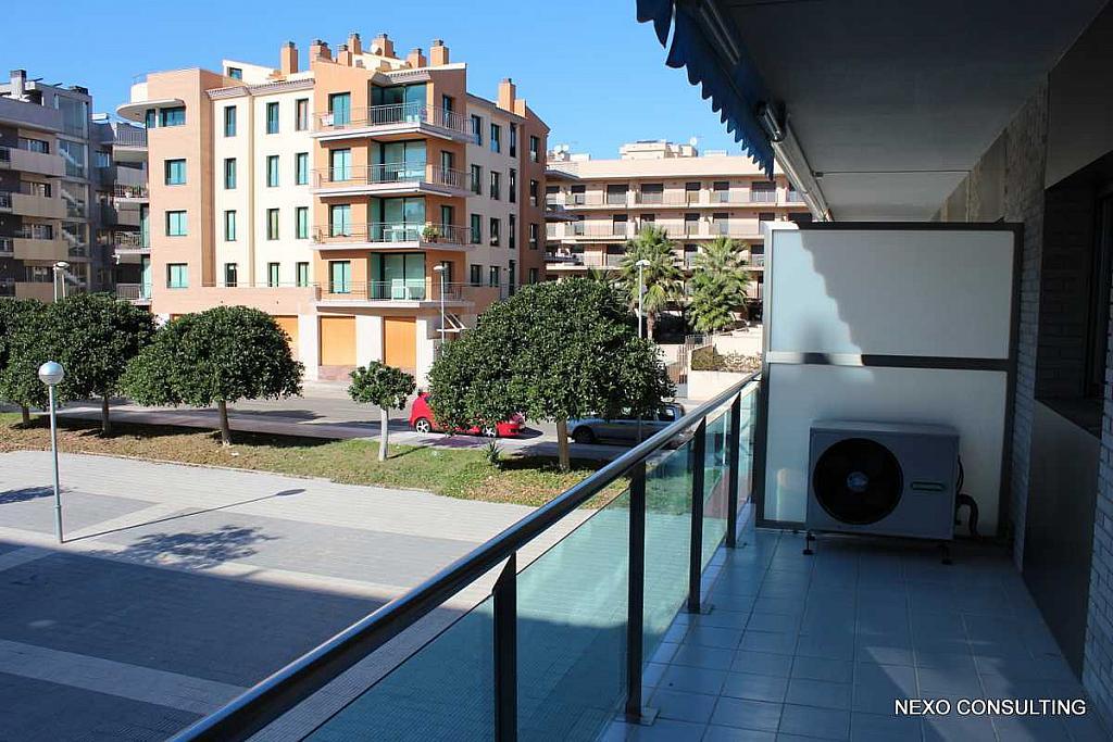 Terraza - Apartamento en venta en calle Riu Brugent, Els Esquirols en Cambrils - 225713937