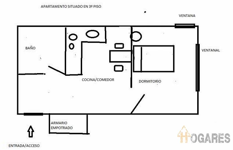 Foto6 - Apartamento en alquiler en calle Chile, Praza Independencia en Vigo - 280508274