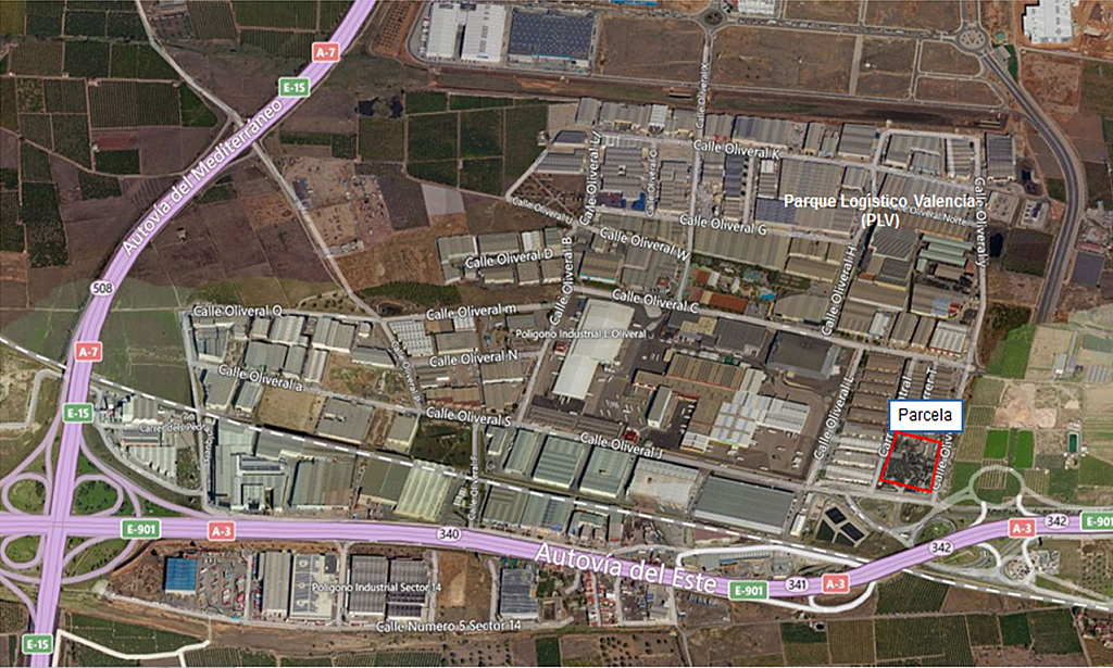 Solar en alquiler en polígono El Oliveral, Zona Sur en Riba-roja de Túria - 269132347
