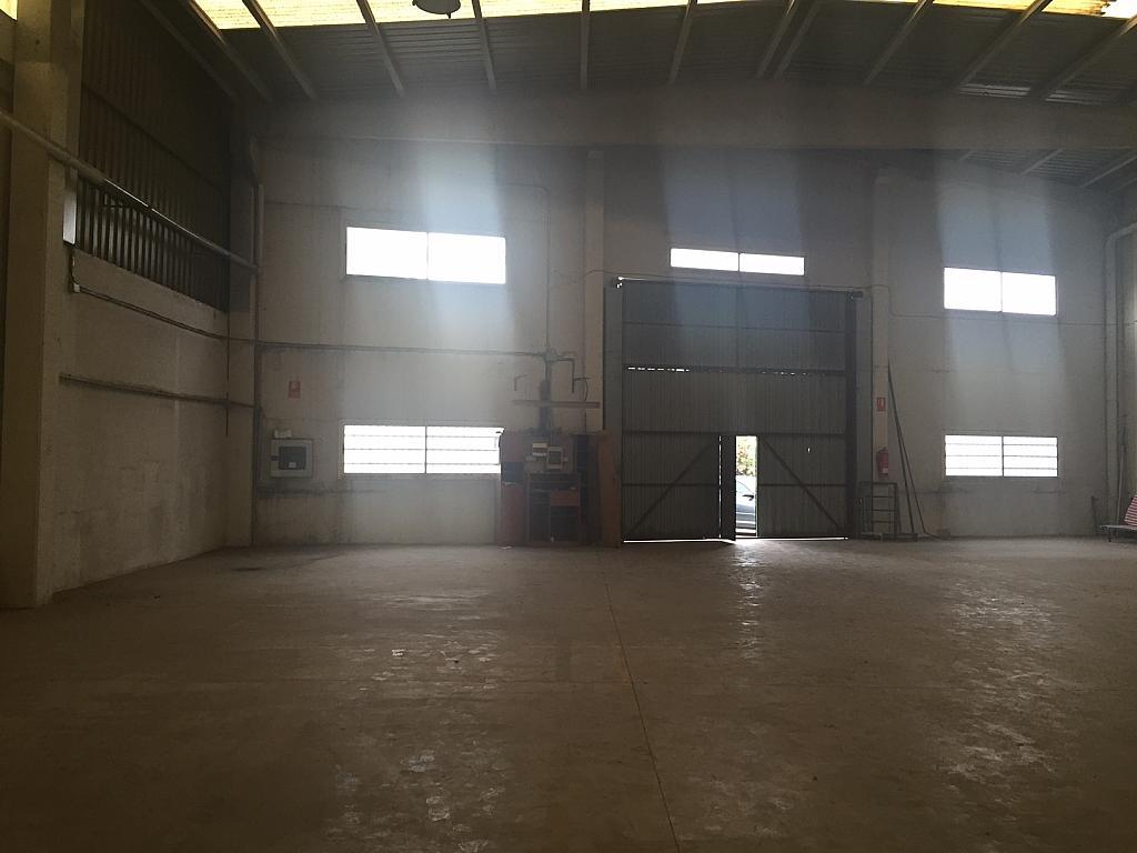 Nave industrial en alquiler en polígono Els Mollons, El Carmen en Alaquàs - 280252742