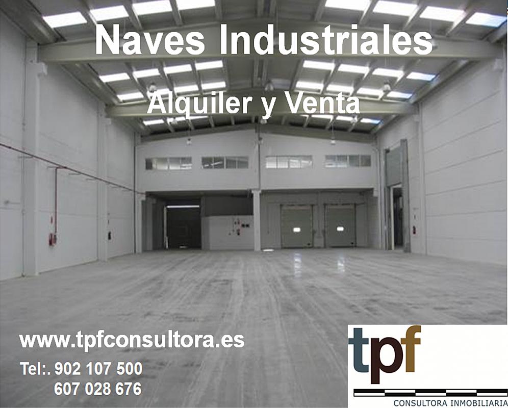 Nave industrial en alquiler en calle Sector, Riba-roja de Túria - 163367770