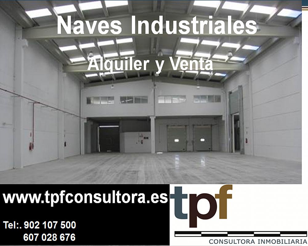 Nave industrial en alquiler en polígono Táctica, Paterna - 172882792