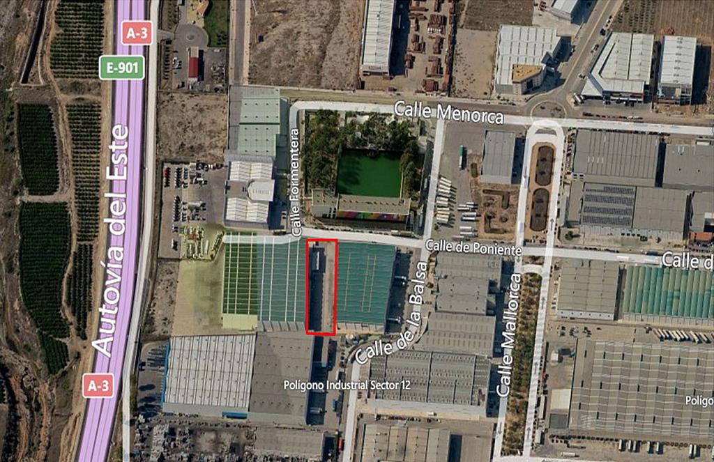 Terreno industrial en alquiler en polígono Sector Ribarroja, Riba-roja de Túria - 203774665