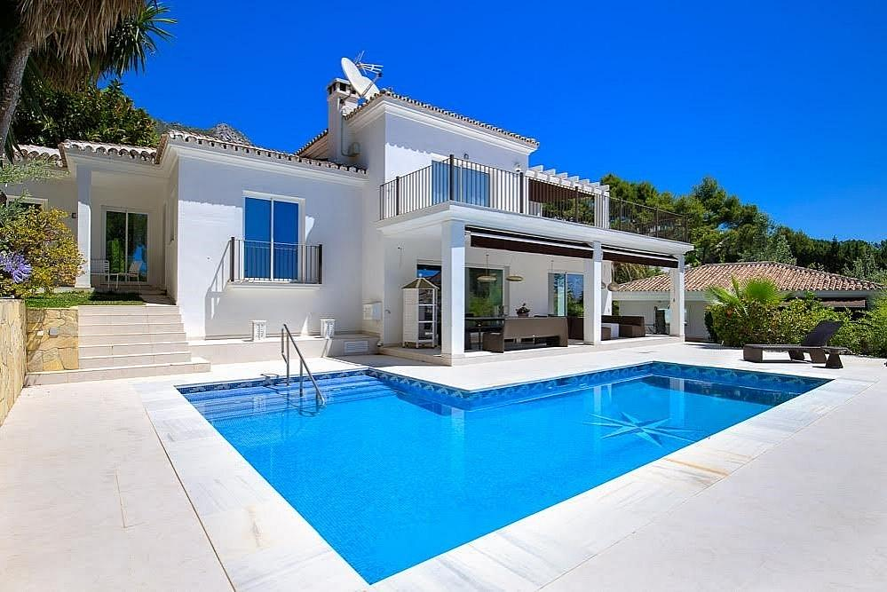 Villa en alquiler en Nagüeles Alto en Marbella - 318729463