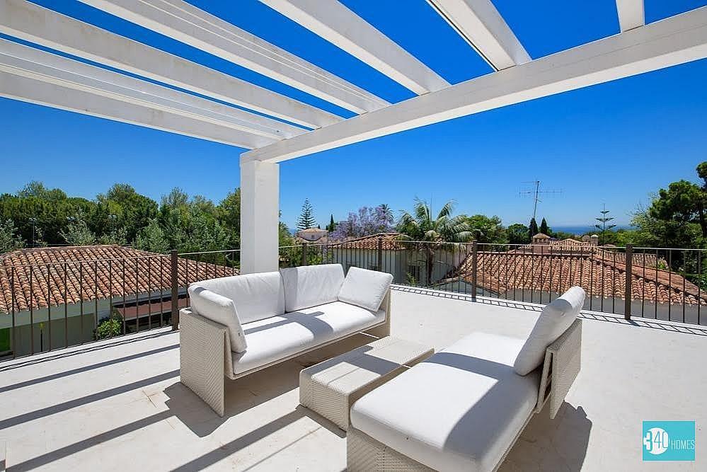 Villa en alquiler en Nagüeles Alto en Marbella - 318729472