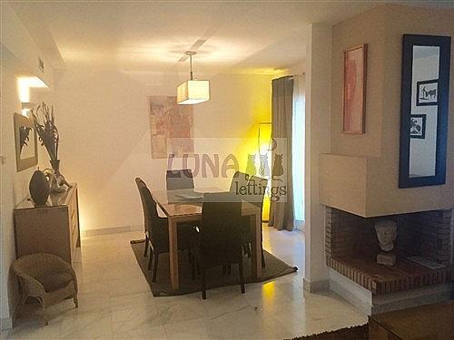 Casa adosada en alquiler en calle Naranjos de Marbella, Nueva andalucia - 325835206