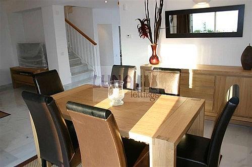 Casa adosada en alquiler en calle Naranjos de Marbella, Nueva andalucia - 325835209