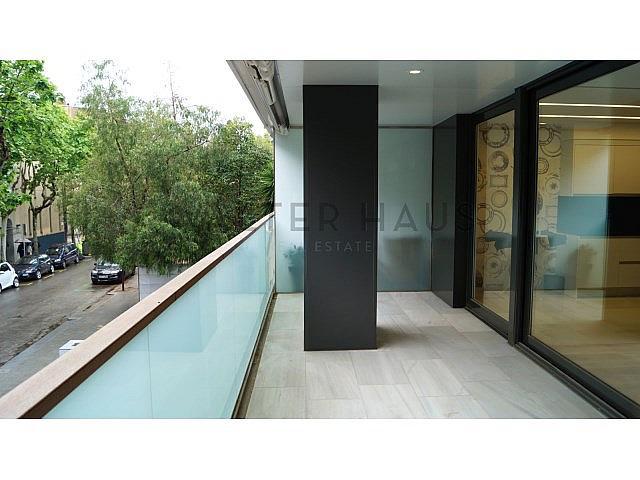 Terraza - Piso en alquiler en Les Tres Torres en Barcelona - 279835547