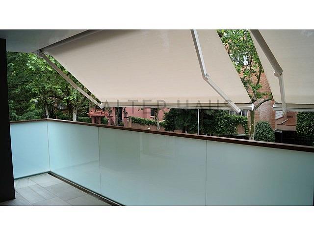 Terraza - Piso en alquiler en Les Tres Torres en Barcelona - 279835550