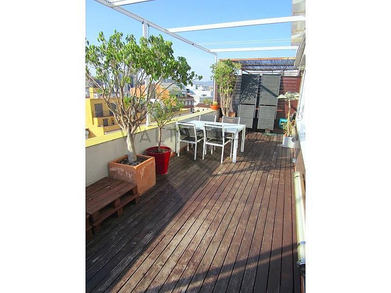 Terraza - Piso en alquiler en Les Tres Torres en Barcelona - 316105284