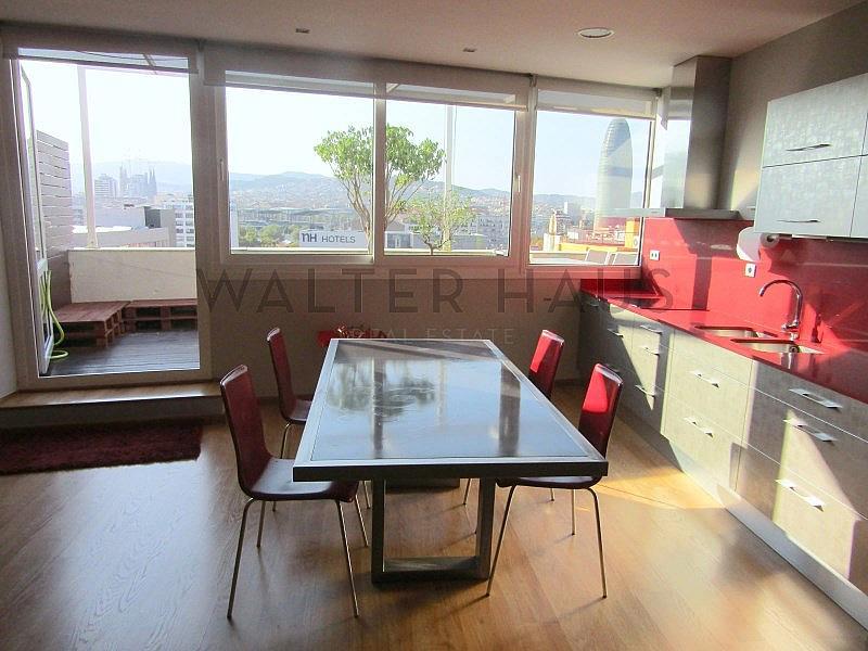 Cocina - Piso en alquiler en Les Tres Torres en Barcelona - 316105296
