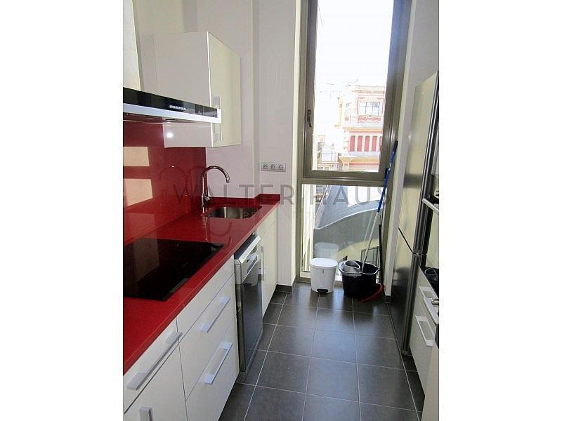 Cocina - Piso en alquiler en El Gótic en Barcelona - 320933984