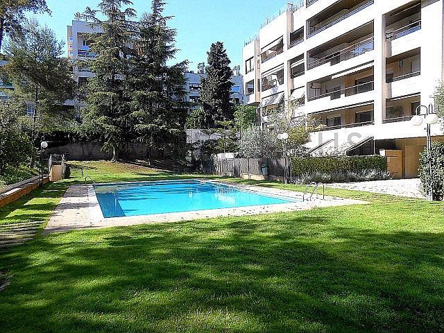 Piscina - Piso en alquiler en Pedralbes en Barcelona - 322250084