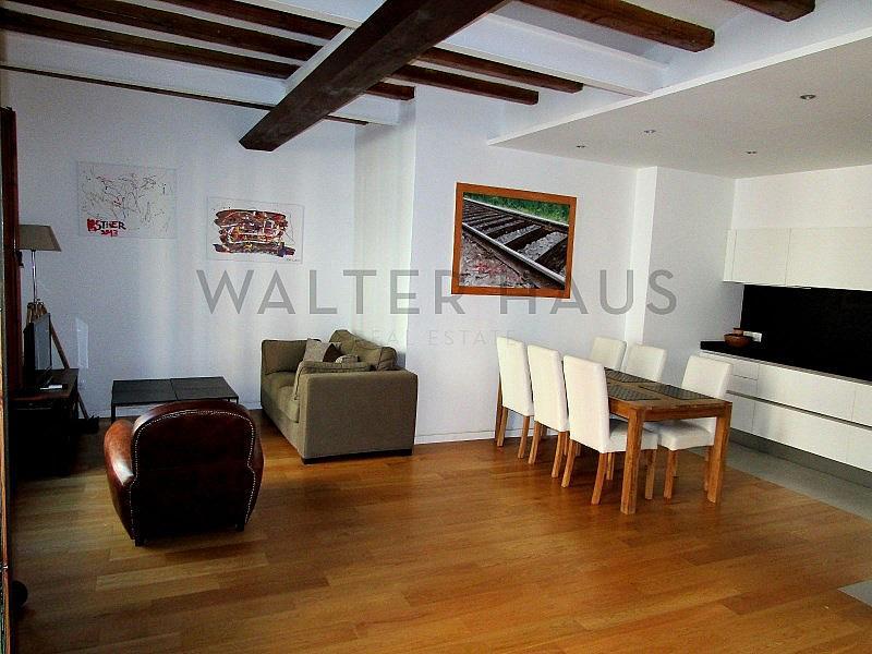 Salón-Comedor - Piso en alquiler en El Gótic en Barcelona - 322750748