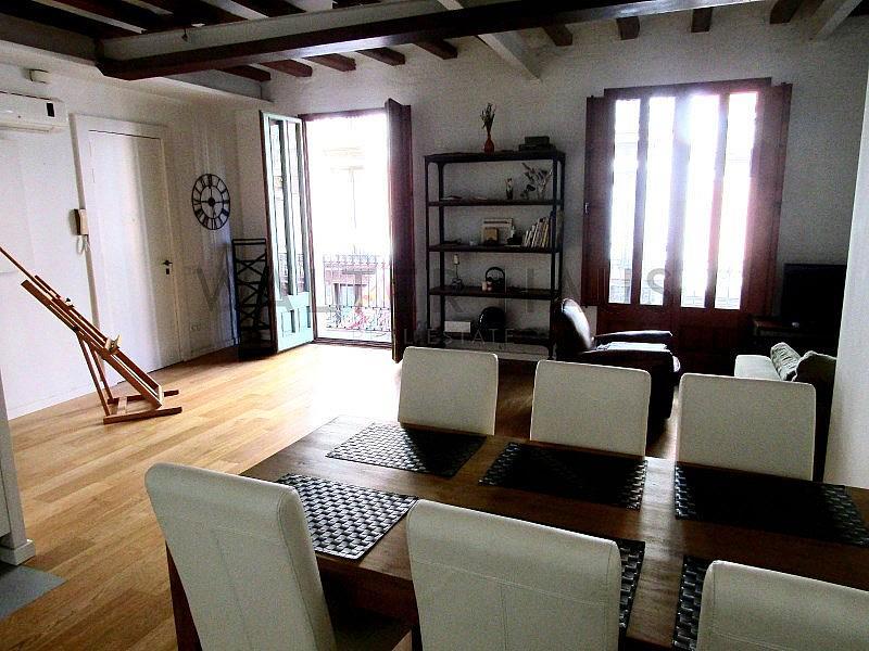 Salón-Comedor - Piso en alquiler en El Gótic en Barcelona - 322750751